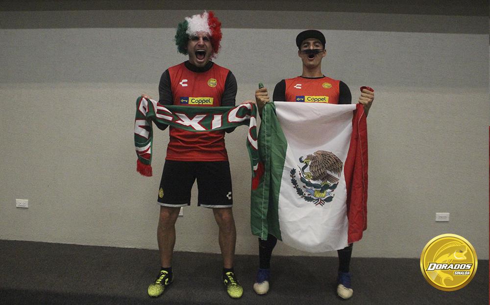 ¡Viva México, Dorados!