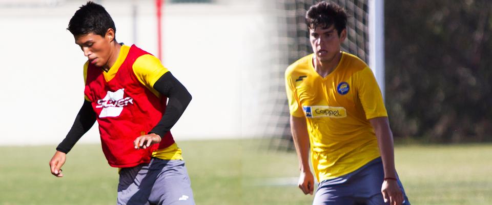 Ambos jugadores forman parte del proceso Preolímpico rumbo a Río de Janeiro 2016.