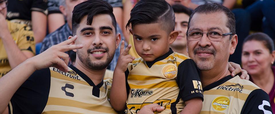 Dorados formó parte de las mejores entradas de la división
