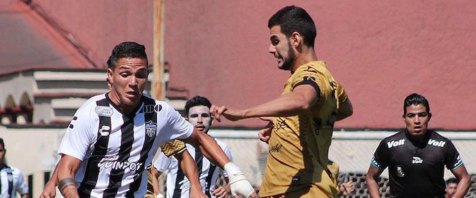 Dorados inició ganando con gol de Francisco Contreras