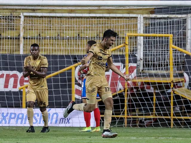 Rubén Salas participó en la elaboración del gol