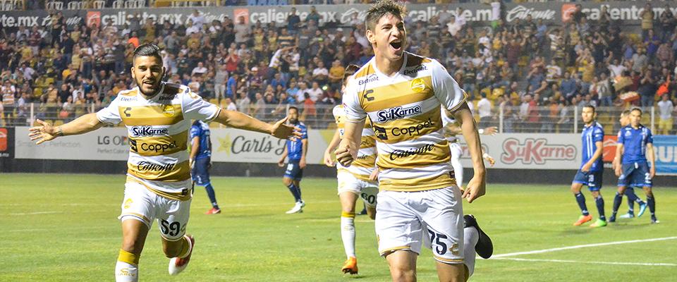 Edson Rivera marcó el primer tanto de la noche