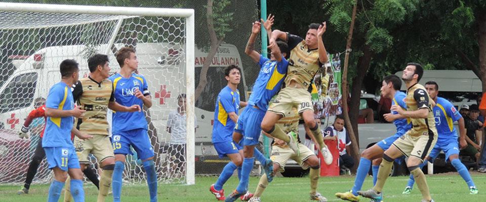 Fronterizos y sinaloenses mostraron buen fútbol.