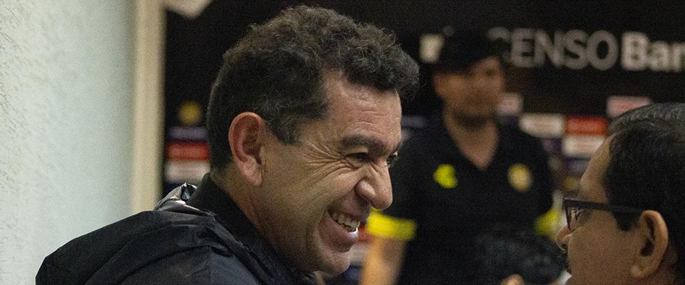 David Patiño en Conferencia de Prensa en La Pecera