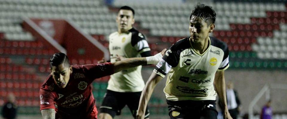 Dorados igualó 0-0 ante Mineros en Zacatecas