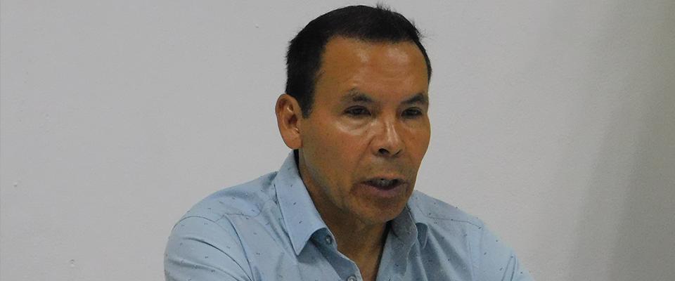 José Guadalupe Cruz en Conferencia de Prensa