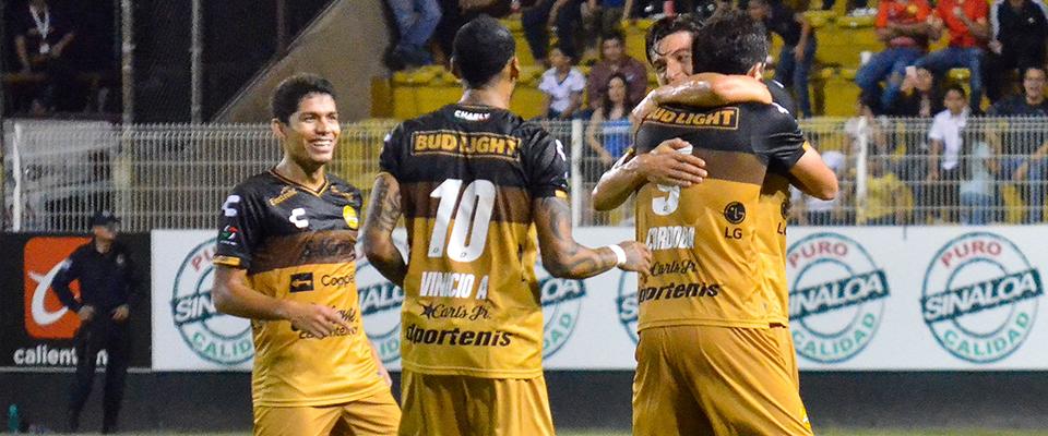 Córdoba anotó por Dorados de Sinaloa