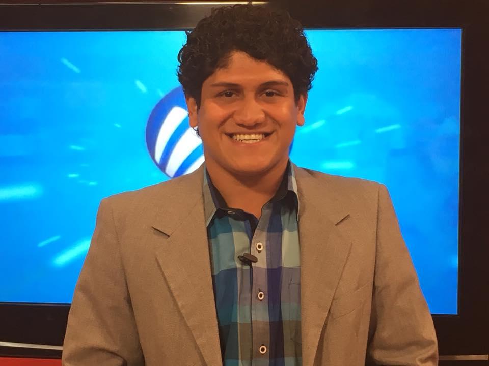 """Javier """"Bambino"""" Sedano, reportero de MegaDeportes"""