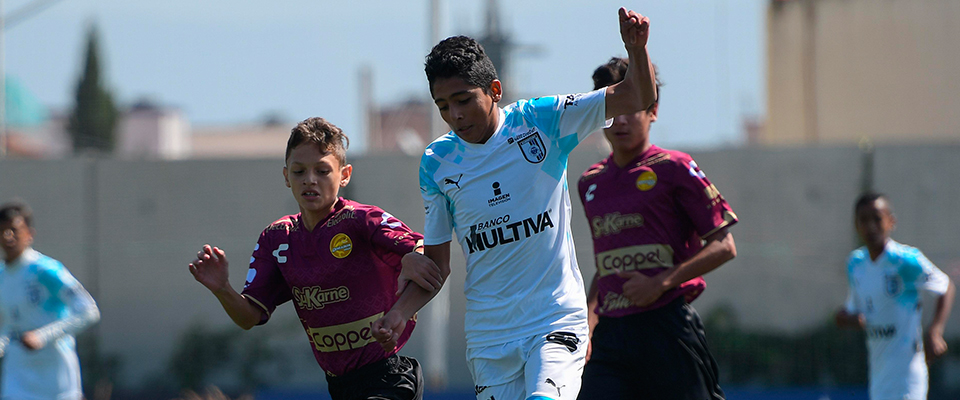 Esta mañana Dorados enfrentó a Querétaro FC