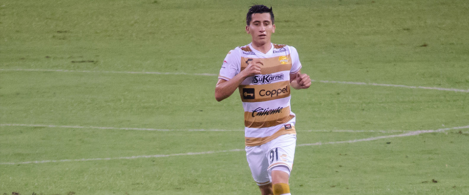 Lugo ingresó a los 73 minutos de tiempo corrido ante Correcaminos
