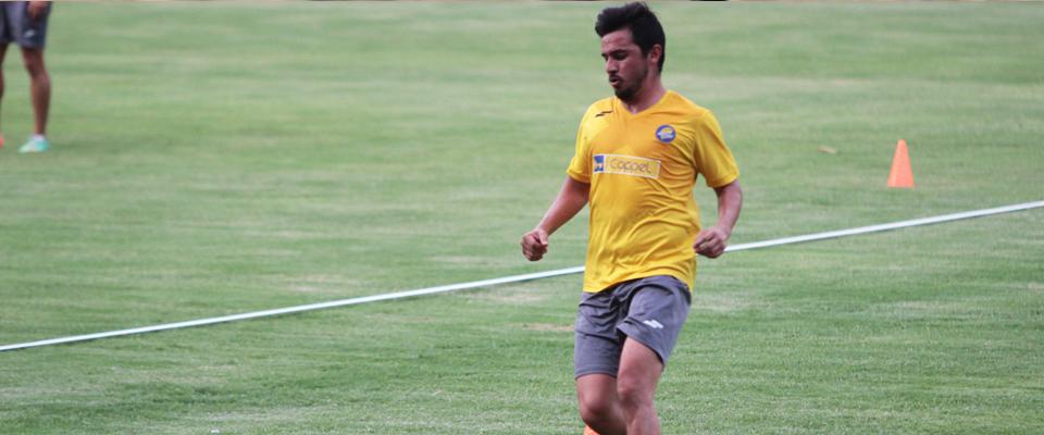 Diego Mejía, hasta la jornada 5, ha participado en todos los encuentros de liga como titular