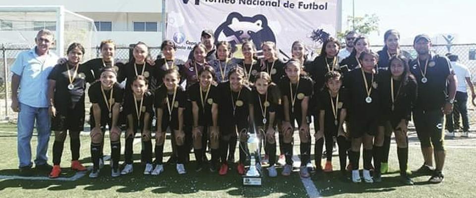 María del Río logró el Campeonato de Goleo