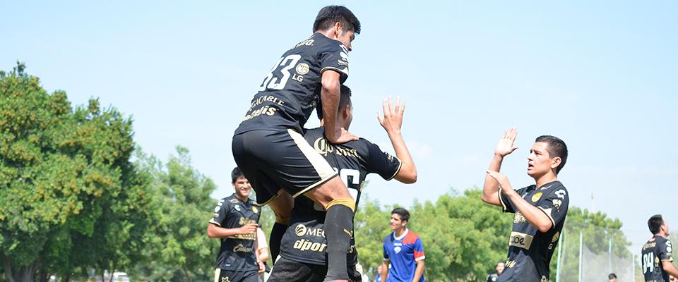 Julio Araujo marcó el gol Dorado que significó el triunfo