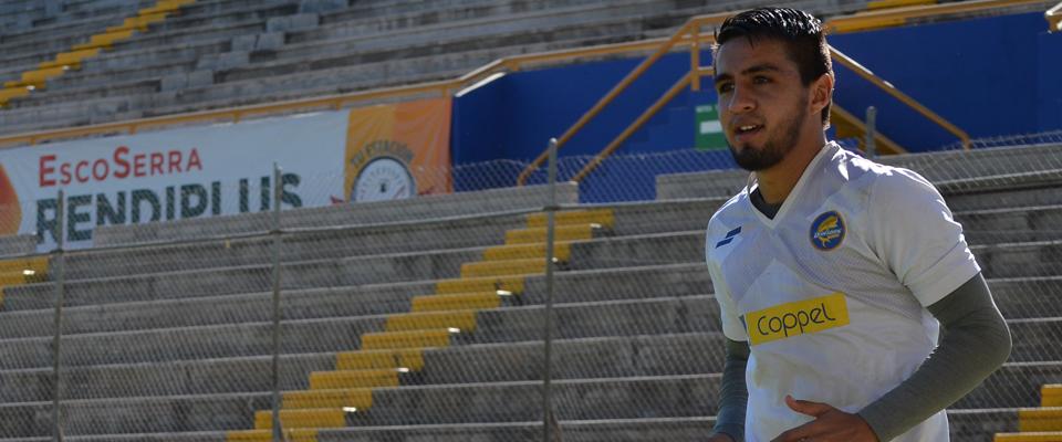 Son 14 goles los que suma Christian López con la playera del Club Dorados de Sinaloa