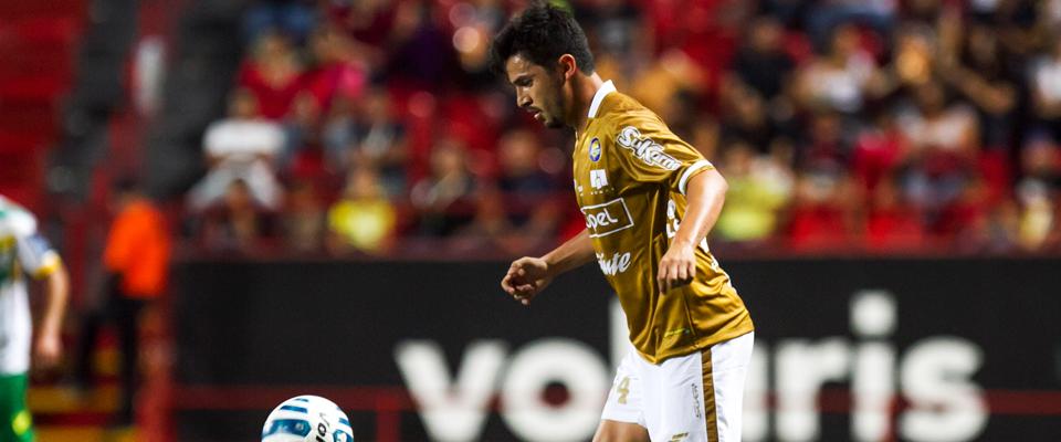 Diego Mejía ya marcó su primer gol en el torneo ante Atlante FC