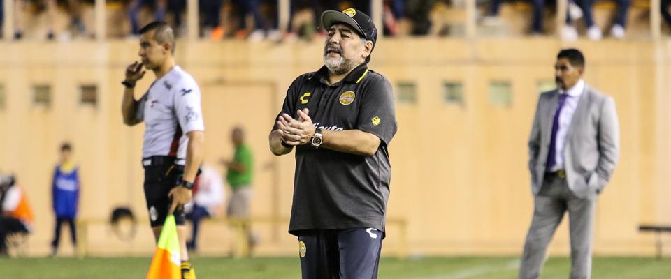 Diego Armando Maradona en el ITO