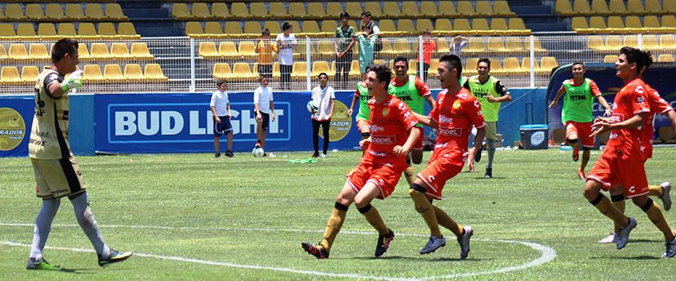 González marcó el tanto Dorado en tiempo regular (Revista La Cancha)