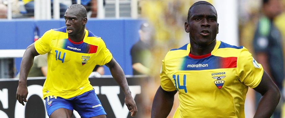 Segundo Castillo ha tenido participación con su selección en el Mundial de Futbol