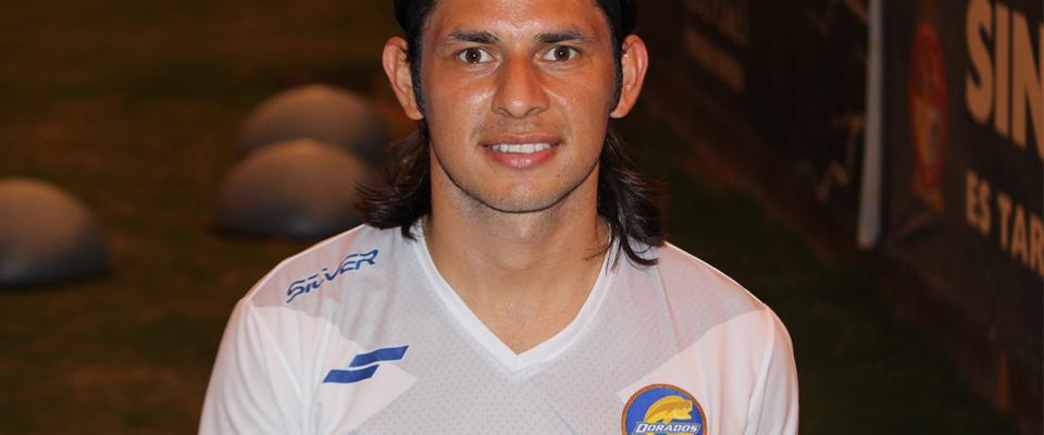 Jesús Gómez se siente contento e ilusionado de llegar a la escuadra Dorada