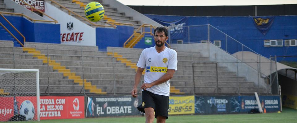 Michel mostró alegría por sumarse al equipo de Sinaloa