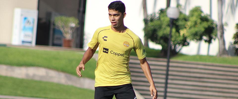 Diego Barbosa llegó a Dorados en este Apertura 2018