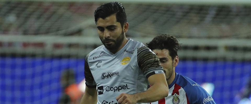 Amaury Escoto anotó el martes contra Chivas