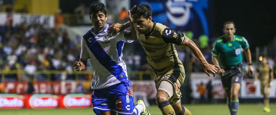 Hernández saltó como titular ante Puebla F.C.