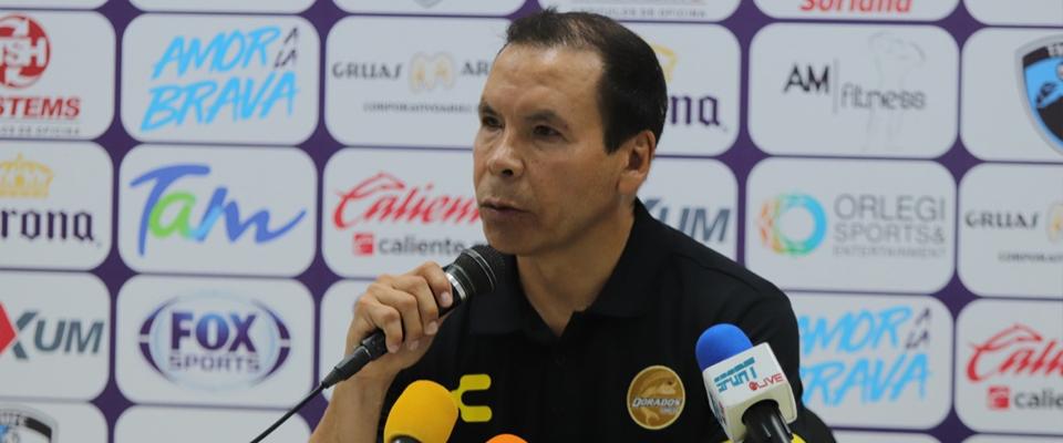 El 'Profe' Cruz en Conferencia de Prensa en Tampico