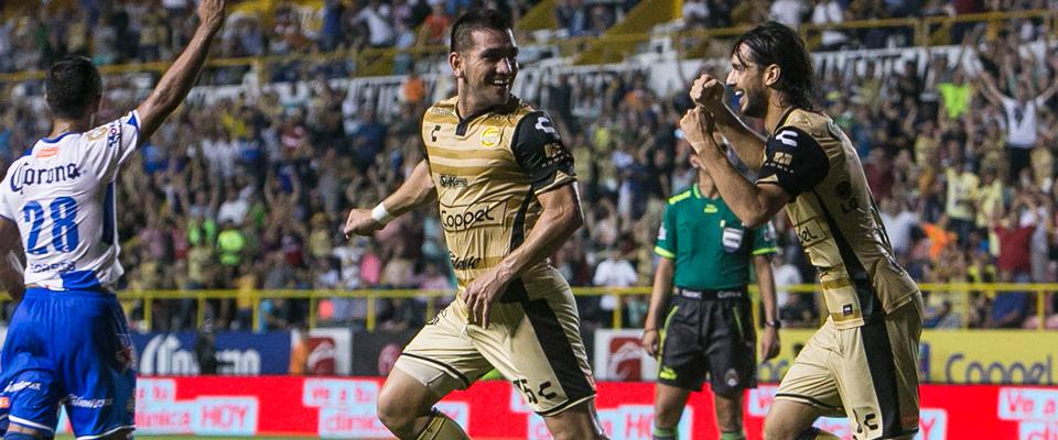 Enríquez ingresó en la parte complementaria ante Puebla (MEXSPORT)